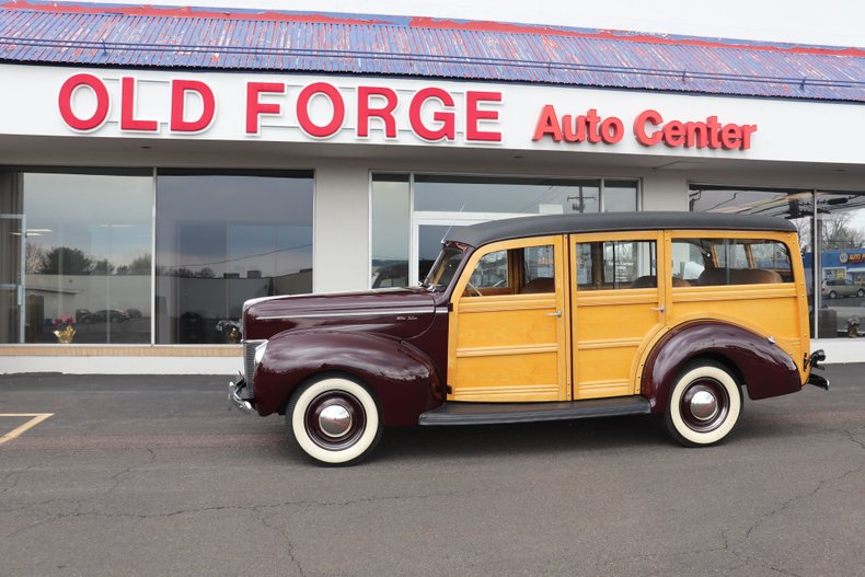 1940 Ford Woodie Wagon
