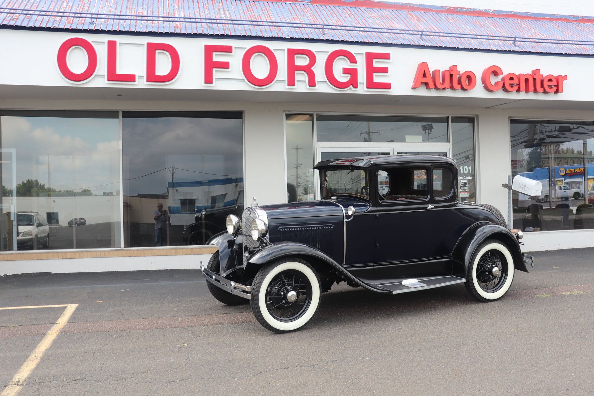 1930 ford model a coupe 5w