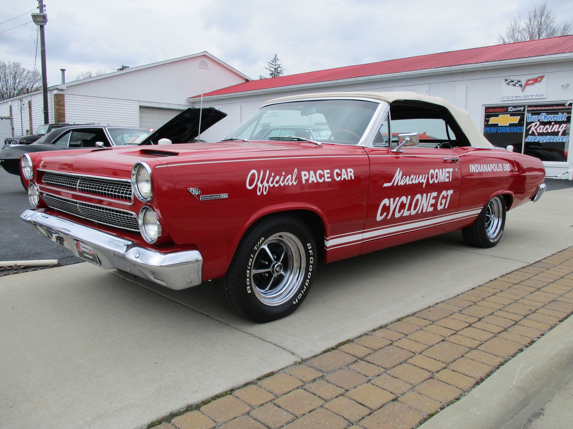 1966 mercury cyclone indy pace car