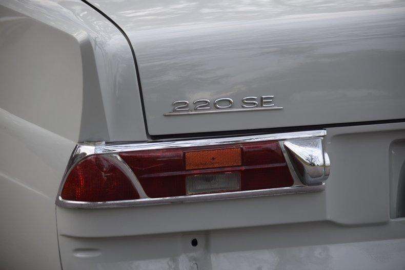 For Sale 1960 Mercedes-Benz 220SE
