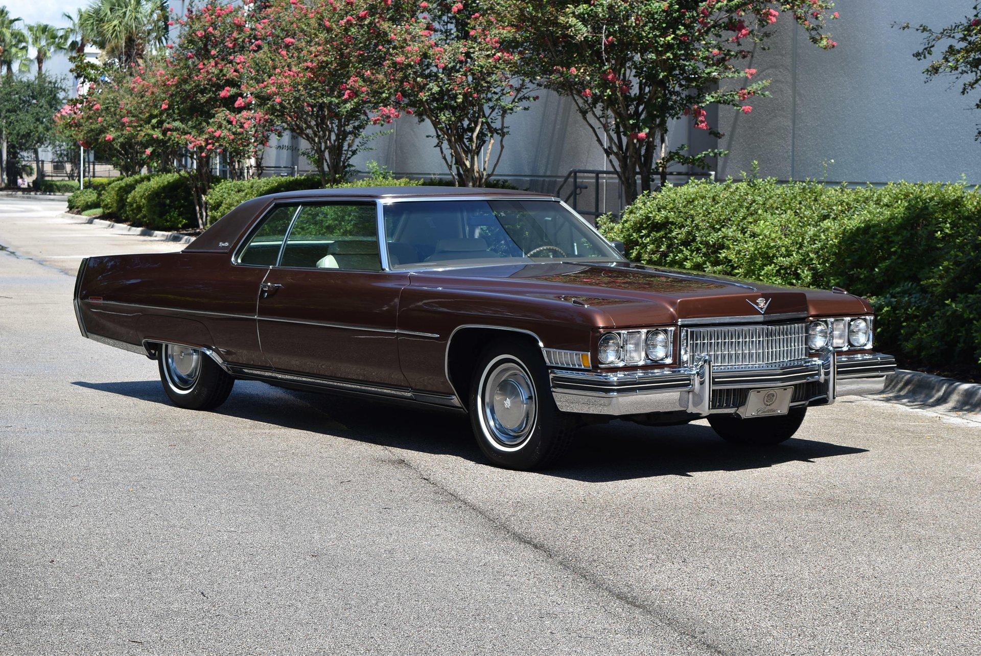 1973 Cadillac Coupe Deville Orlando Classic Cars