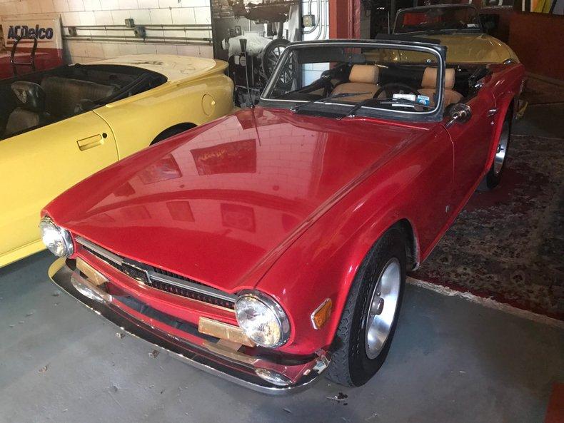 For Sale 1973 Triumph TR6