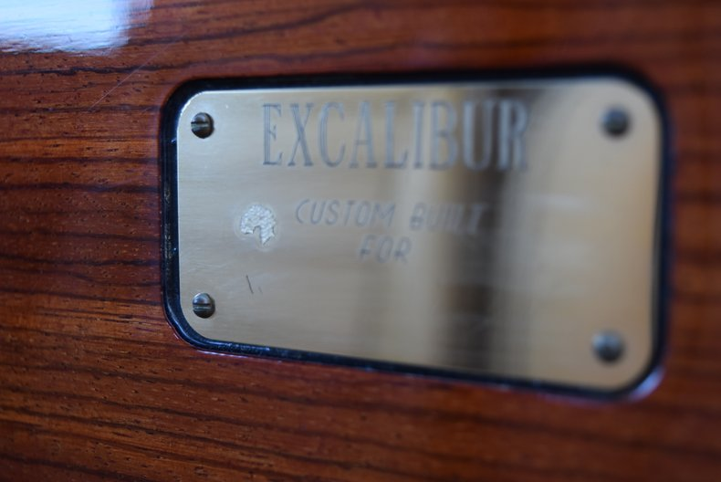 For Sale 1985 Excalibur Series V