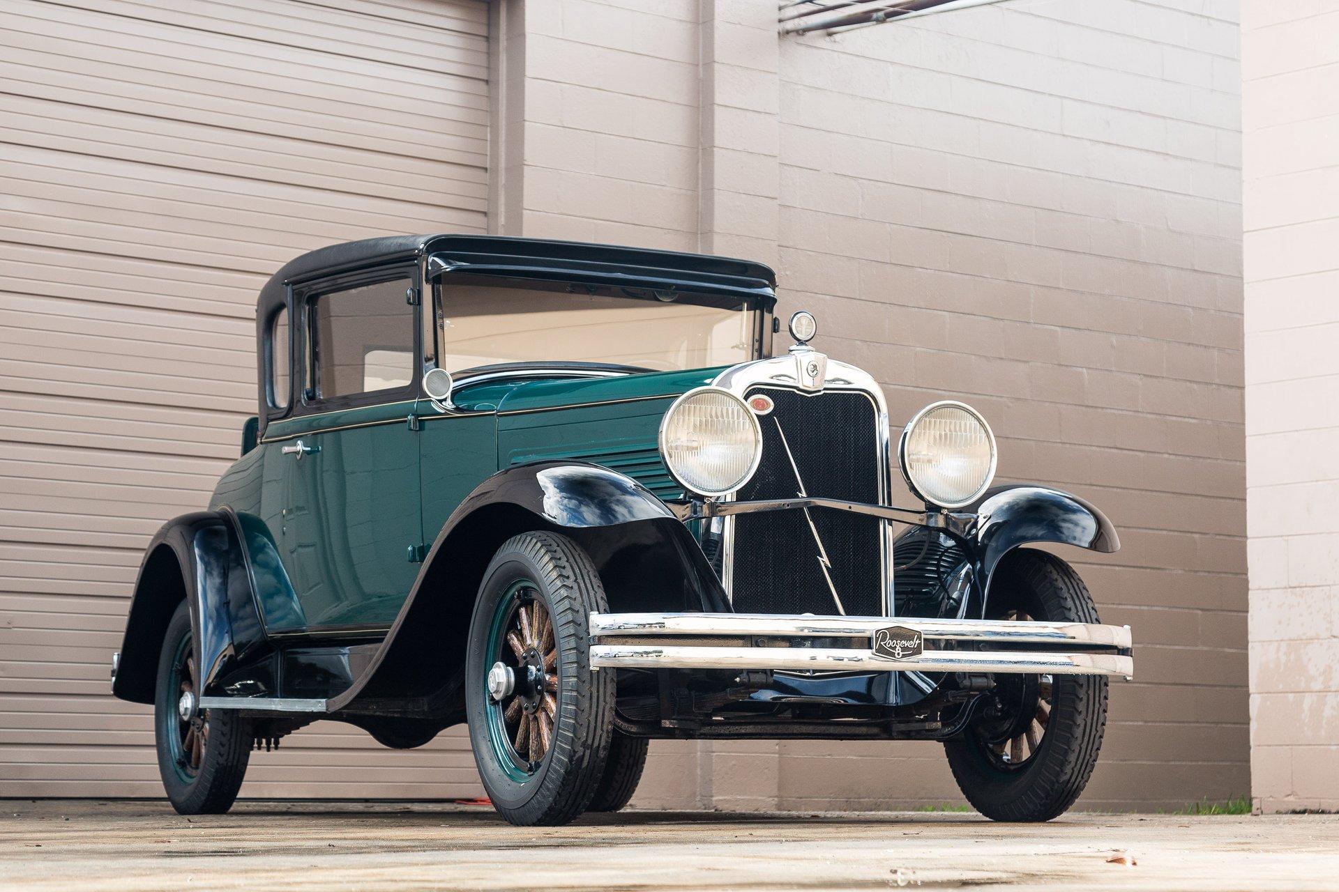 1929 Roosevelt 5 Window Coupe