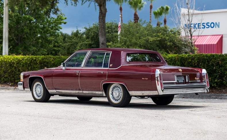 For Sale 1985 Cadillac Fleetwood Brougham