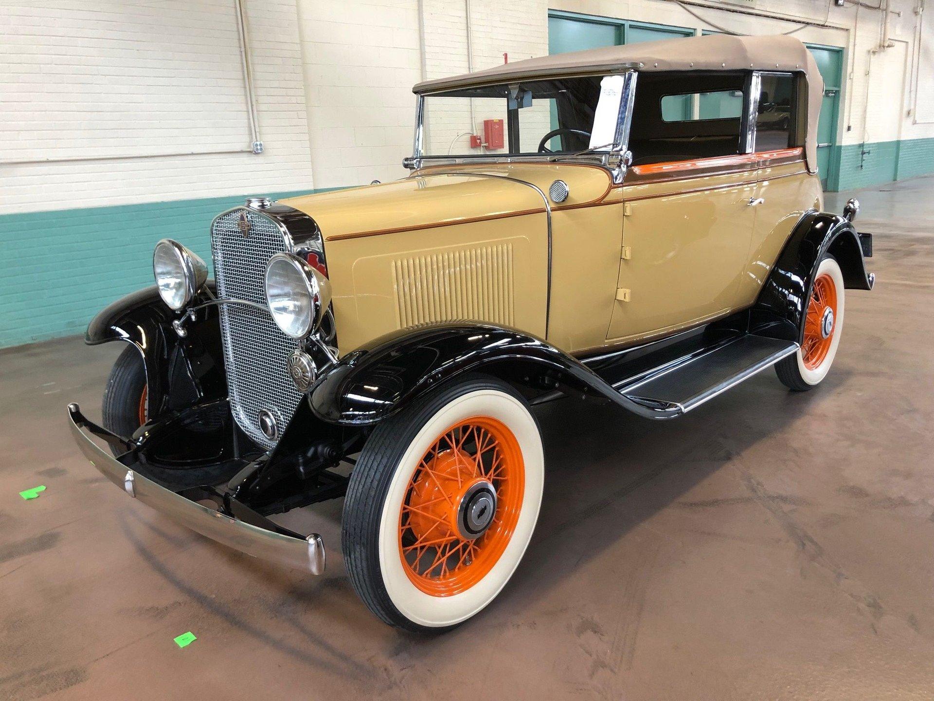 1931 Chevrolet Landau Phaeton
