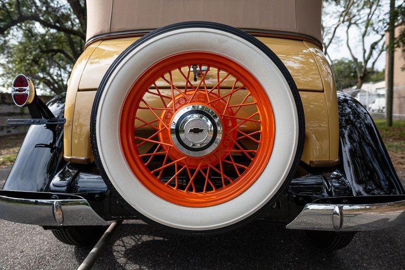 For Sale 1931 Chevrolet Landau Phaeton