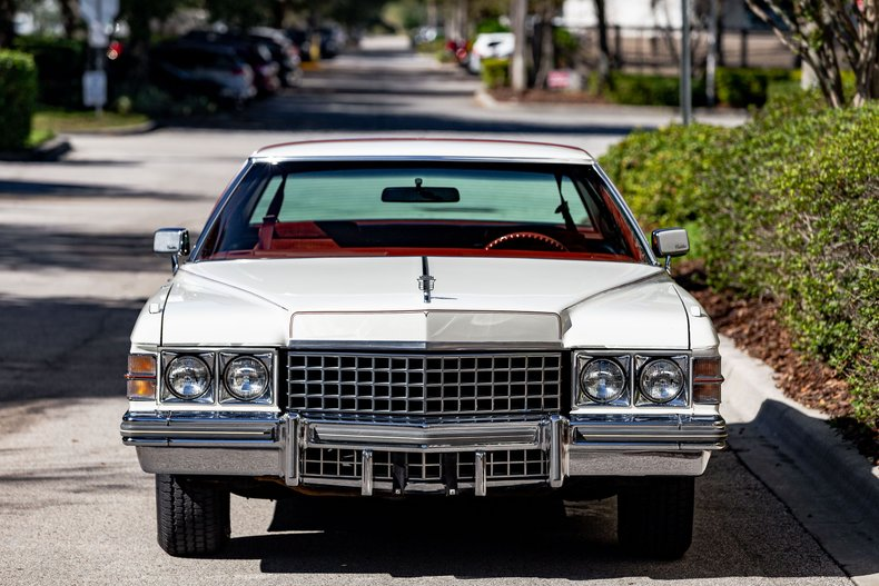 For Sale 1974 Cadillac Coupe DeVille
