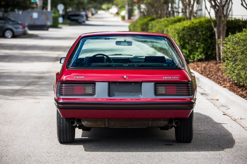 For Sale 1983 Mercury Capri