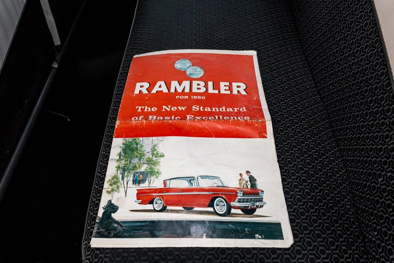 For Sale 1960 Rambler Sedan