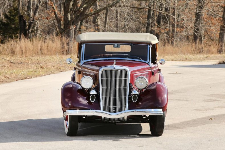 For Sale 1935 Ford Phaeton