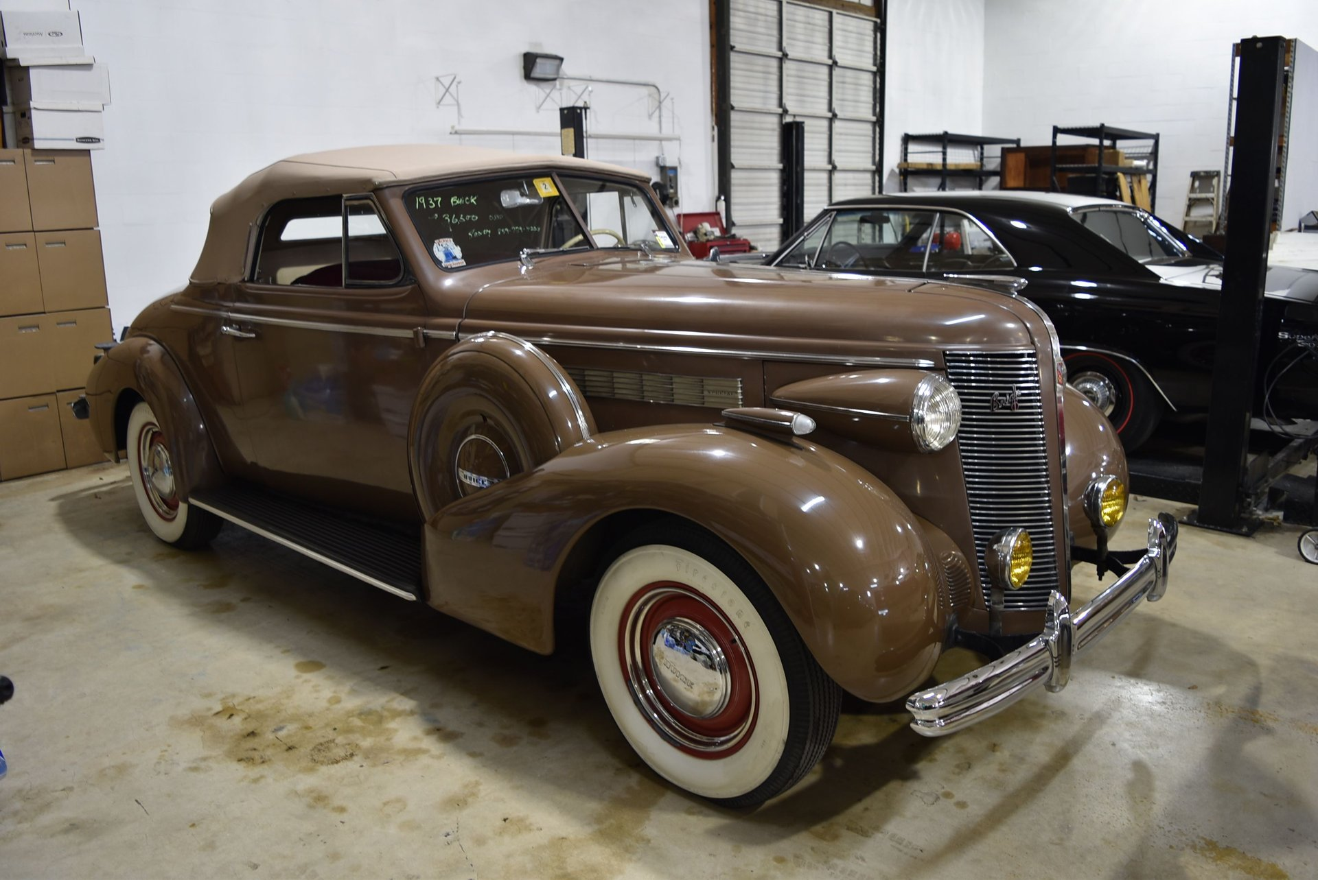 1937 Buick Convertible