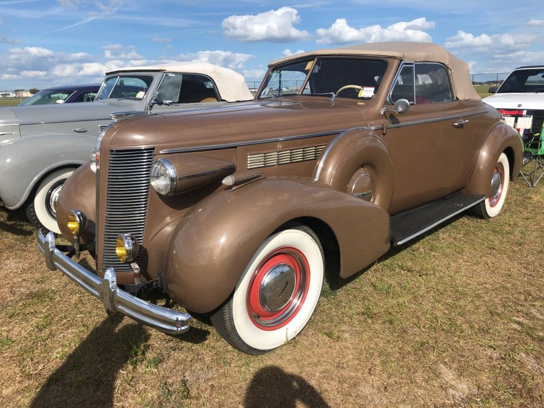 For Sale 1937 Buick Convertible
