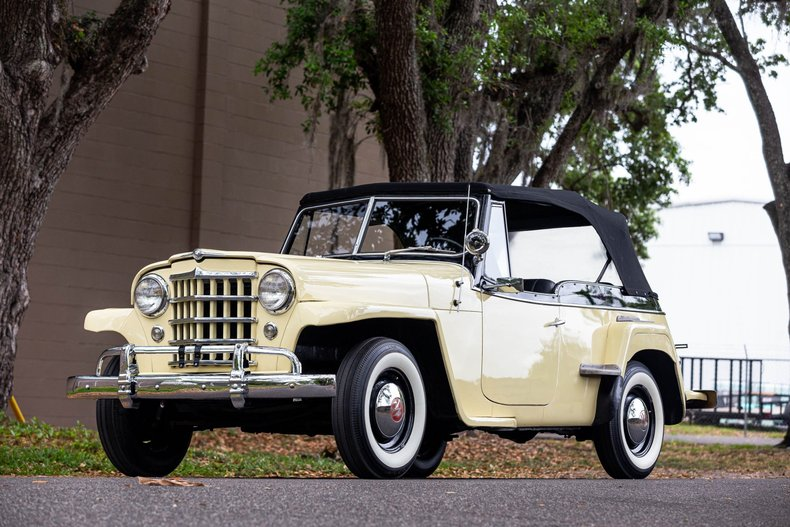 For Sale 1950 Willys Jeepster