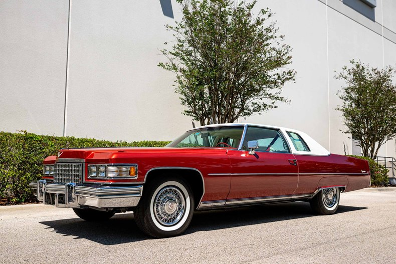 For Sale 1976 Cadillac Coupe DeVille