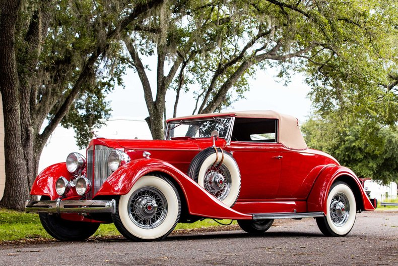 For Sale 1934 Packard Coupe Roadster