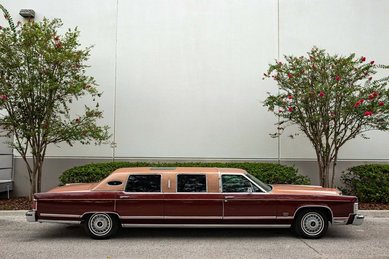 For Sale 1979 Lincoln Limousine