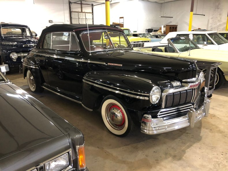 For Sale 1948 Mercury Convertible