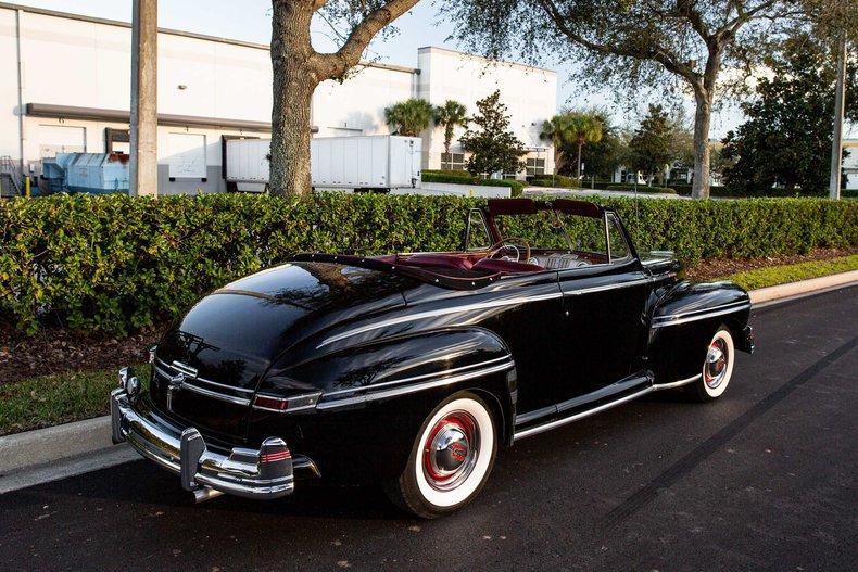 For Sale 1948 Mercury Convertible