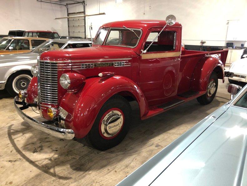 For Sale 1938 Diamond T Pickup