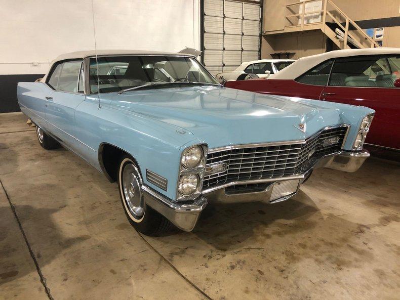 For Sale 1967 Cadillac DeVille