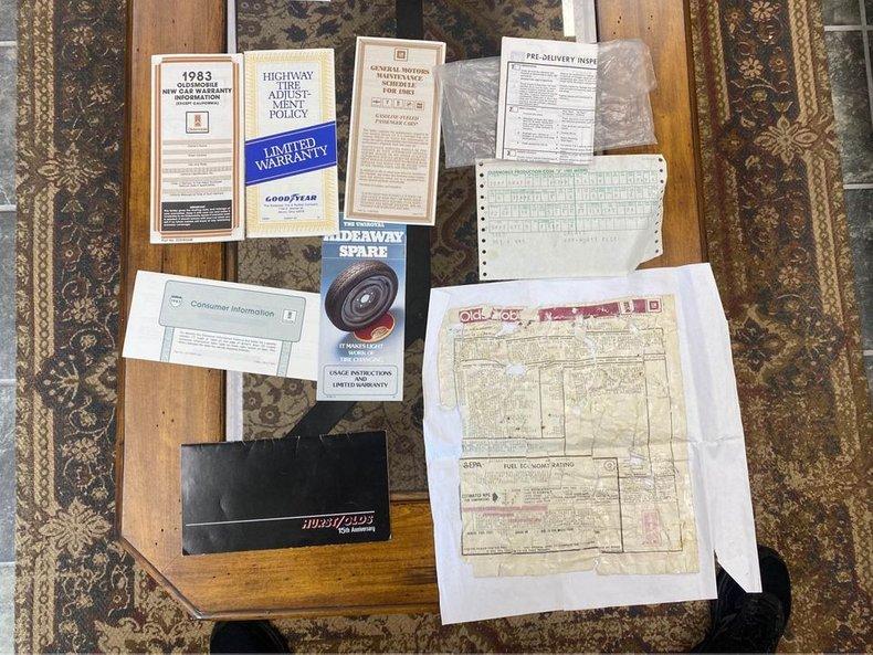 For Sale 1983 Oldsmobile Hurst Olds
