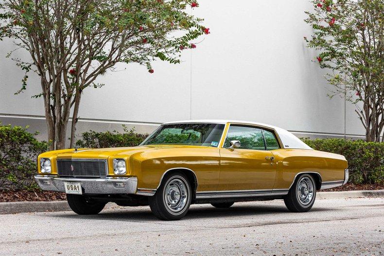 For Sale 1971 Chevrolet Monte Carlo