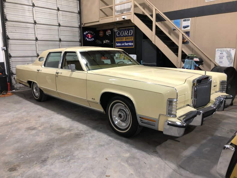 For Sale 1978 Lincoln Town Car