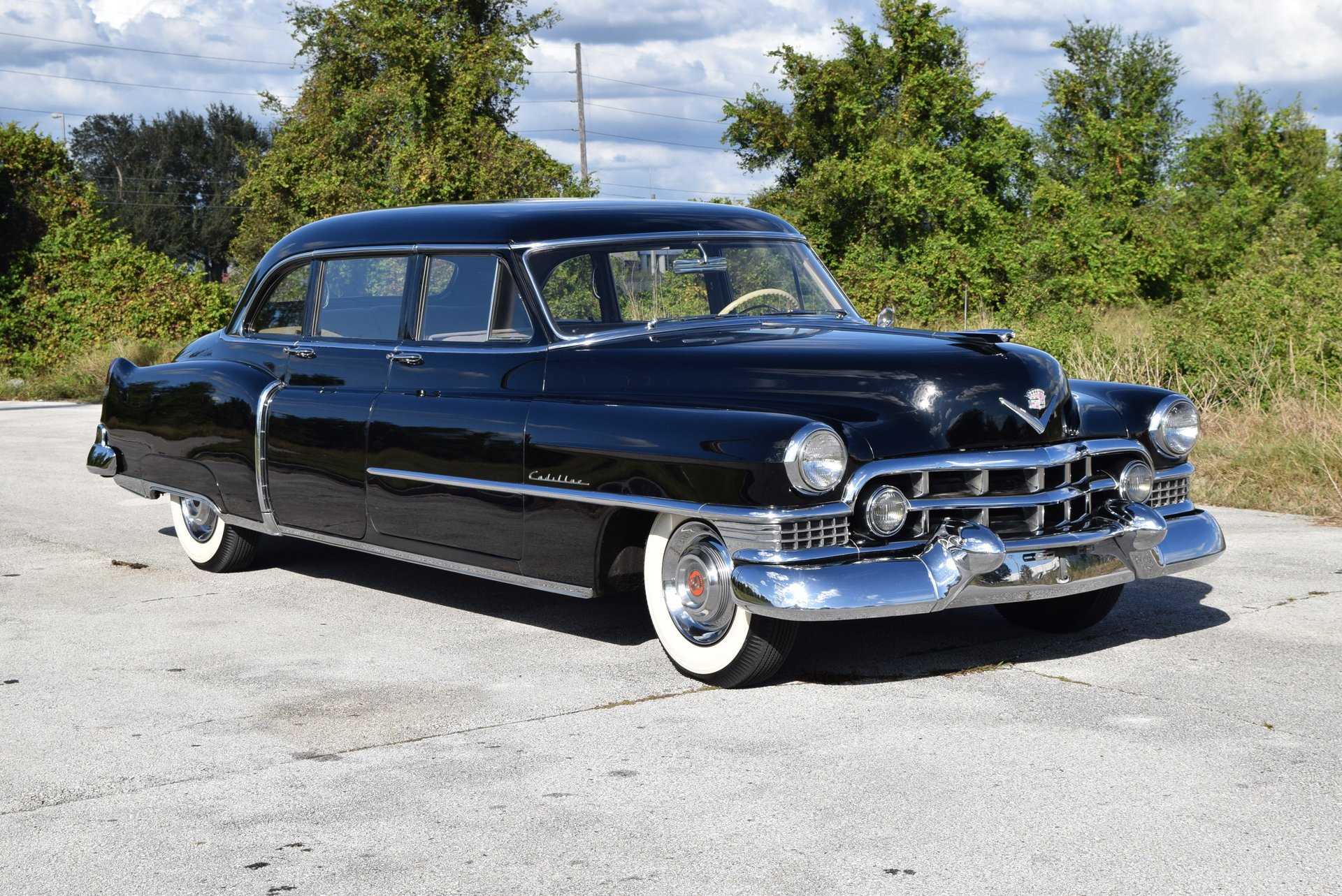 1951 Cadillac Fleetwood 75 Limousine Orlando Classic Cars