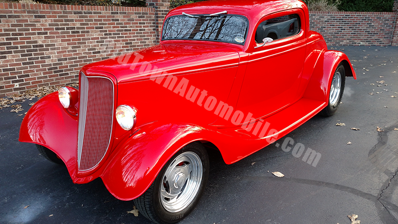 1933 ford 3 window