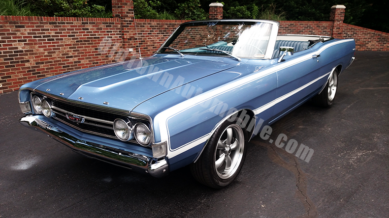 1968 Ford Torino GT Convertible for sale #91012 | MCG