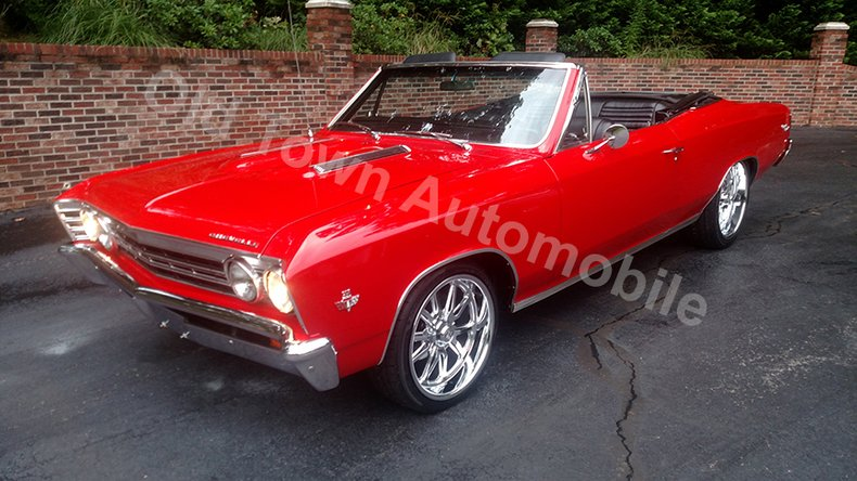 1967 Chevrolet Chevelle SS Convertible for sale #99526   MCG