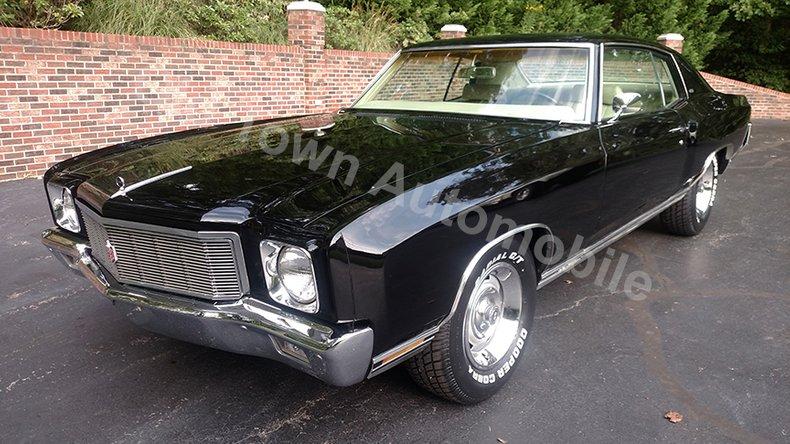 1971 Chevrolet Monte Carlo For Sale