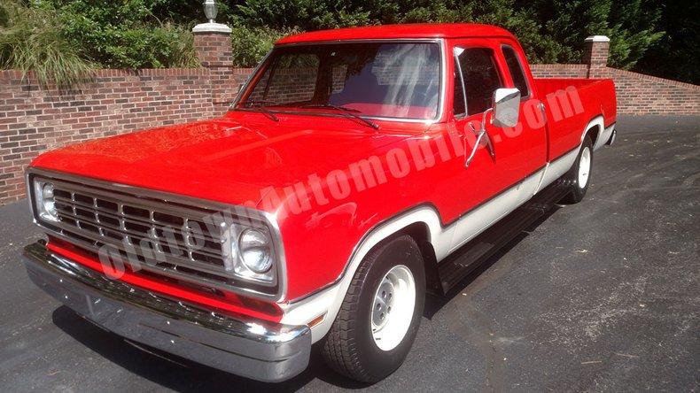 1973 Dodge D150 For Sale