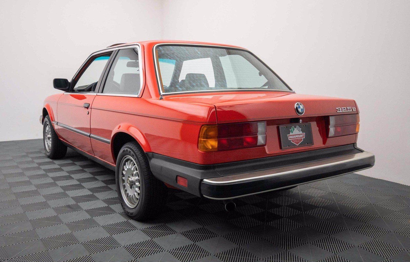 1984 BMW 325E