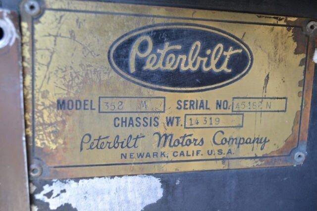 1972 Peterbilt 352M