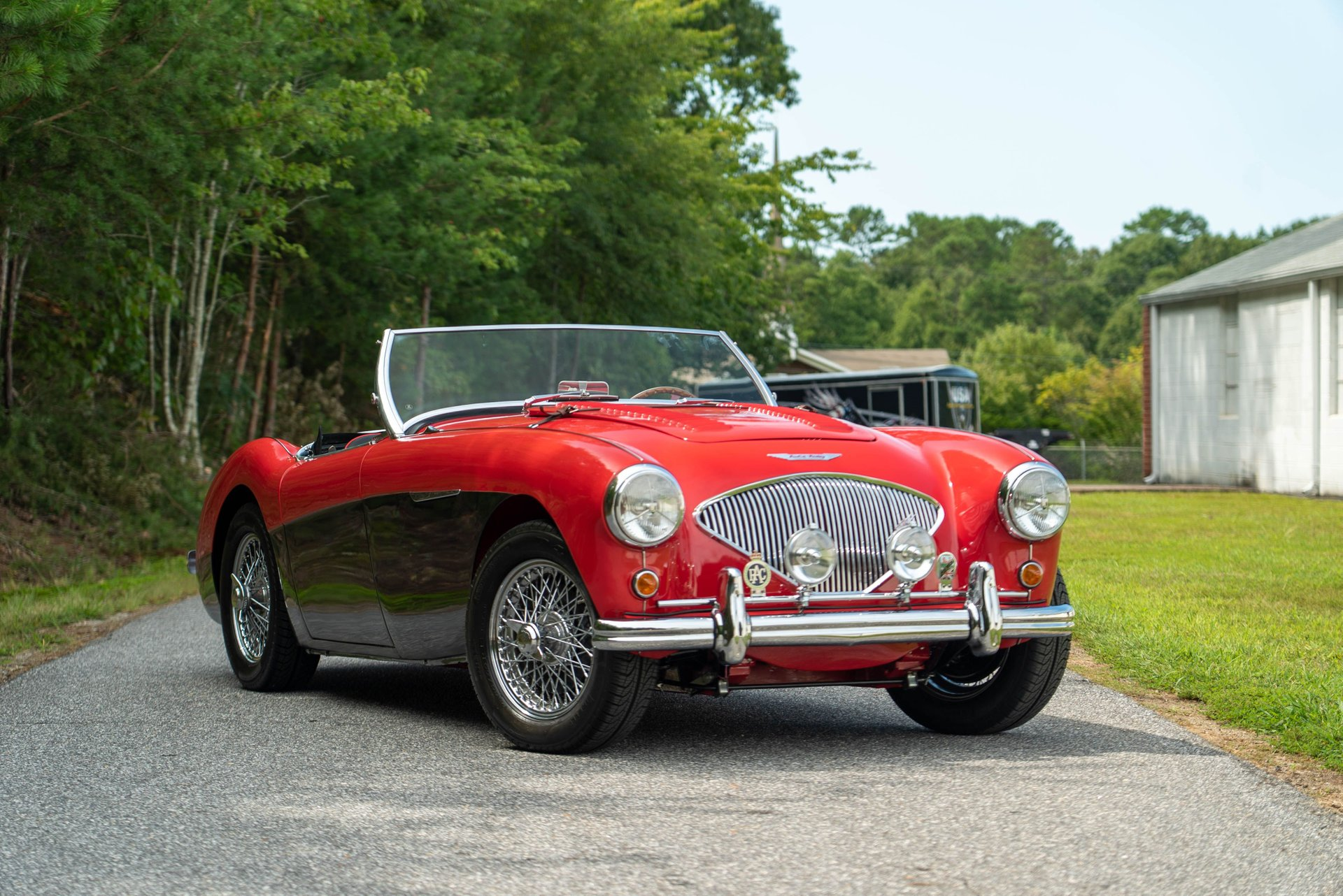 1954 austin healey lemans edition dealer installed optioned 100m