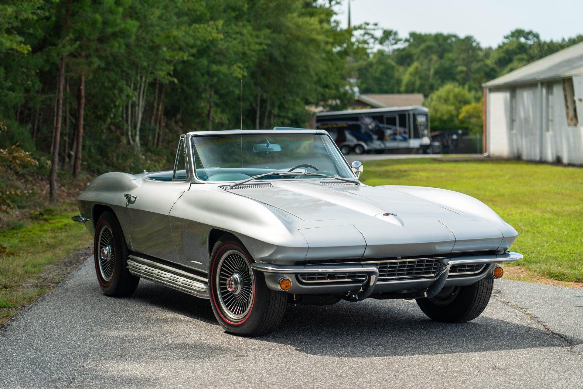 1967 chevrolet corvette l79 roadster