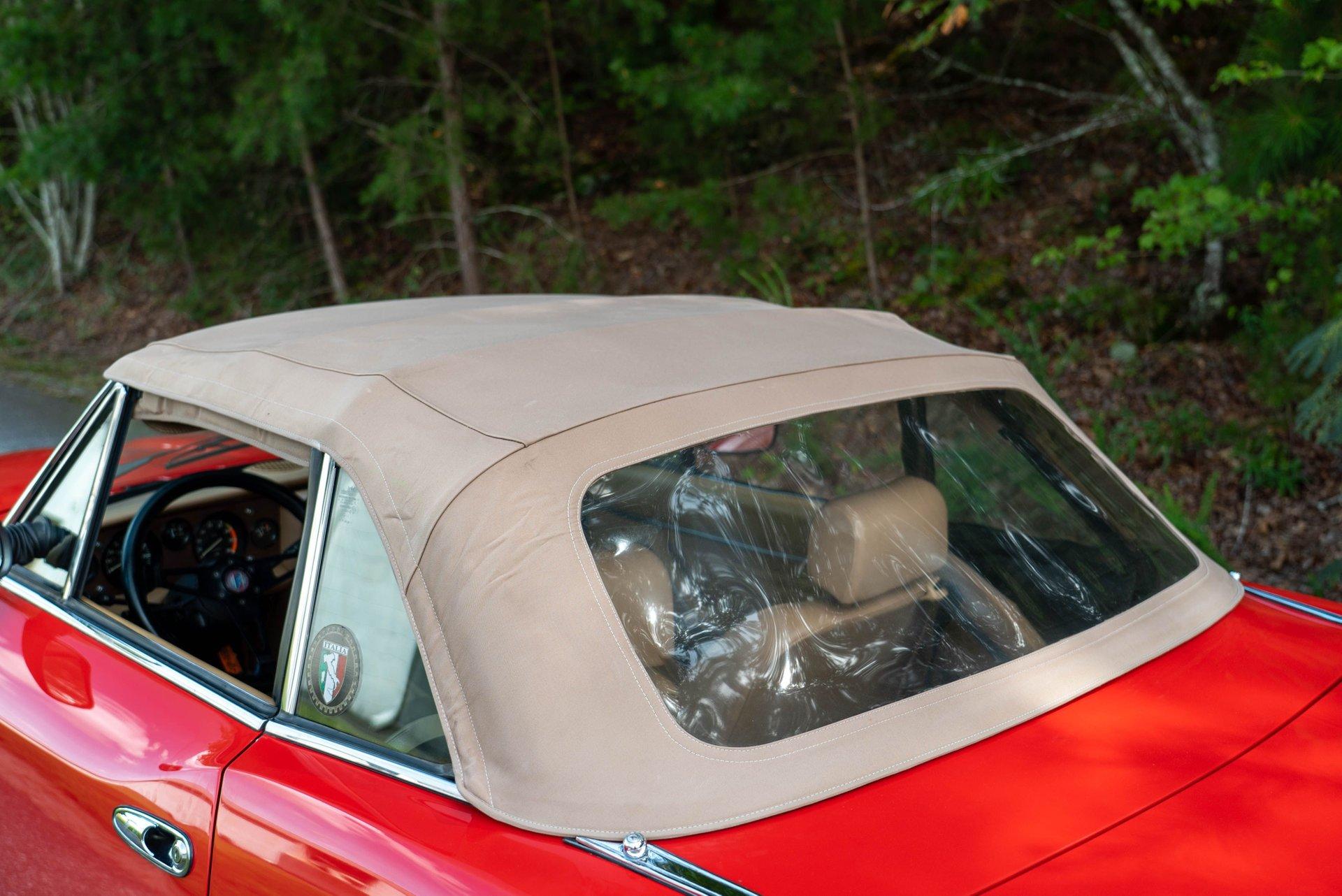 1984 Fiat 2000 Pininfarina Azzurra Spider