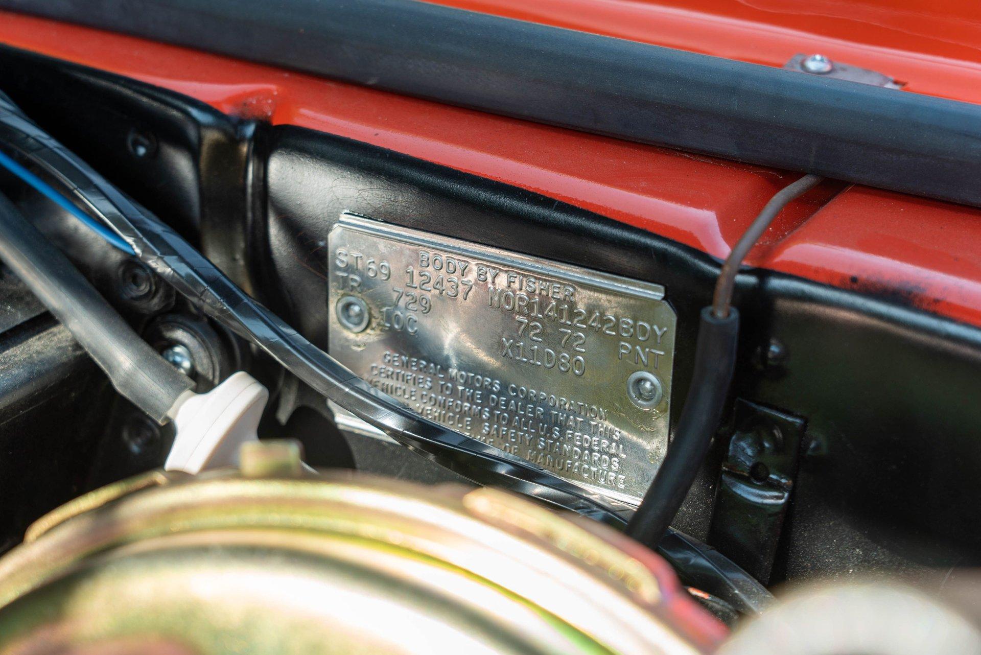 1969 Chevrolet Camaro Super Sport/Rally Sport