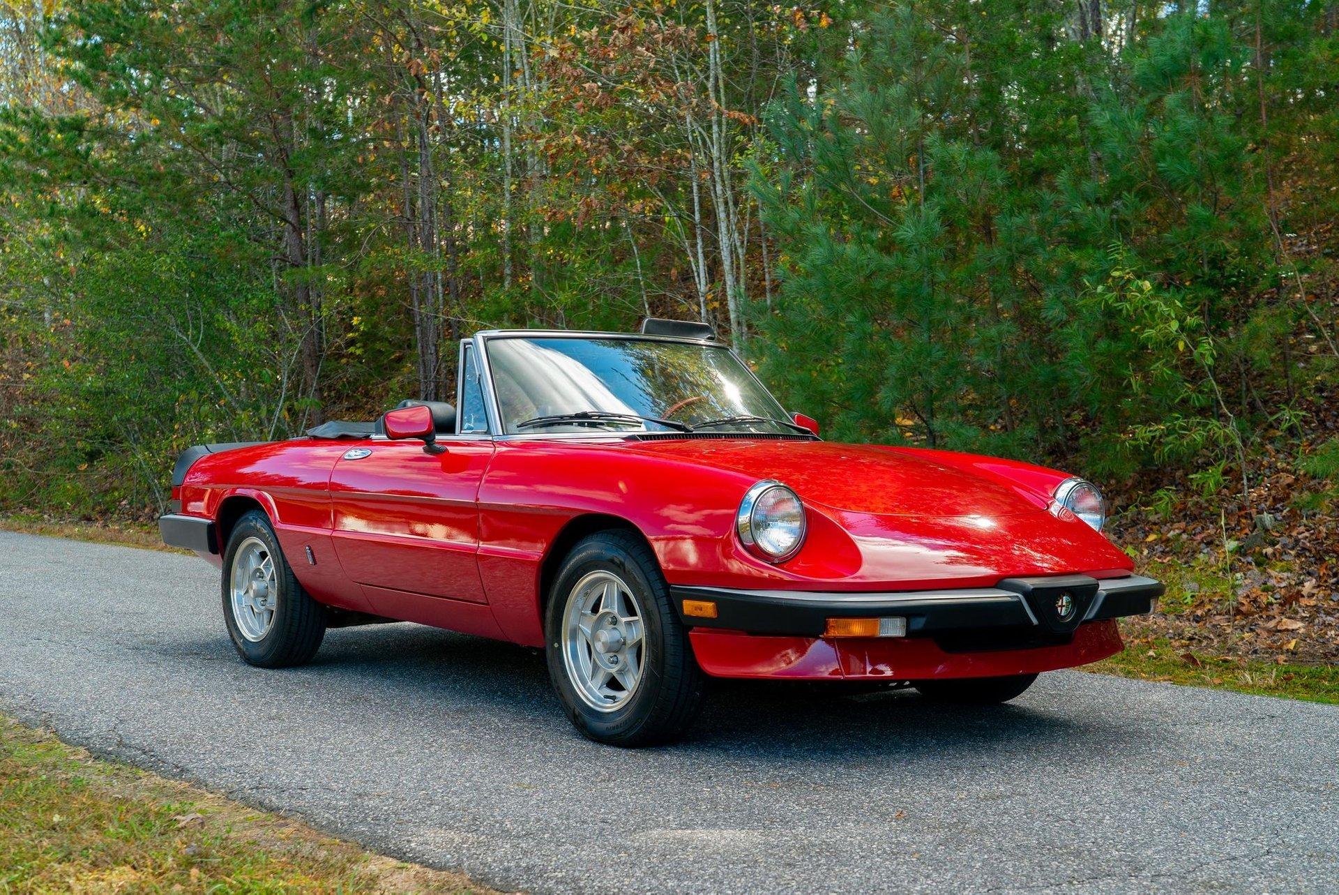 1985 Alfa Romeo Spider