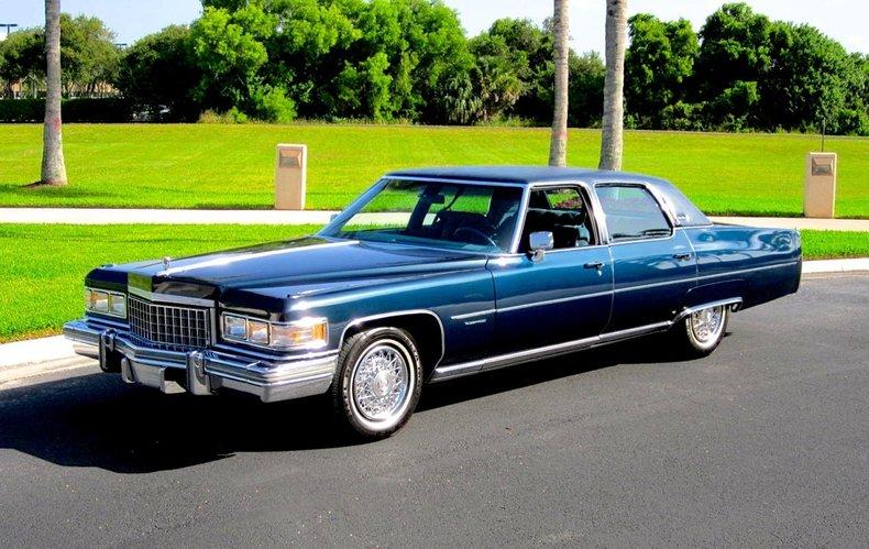 Cadillac Fleetwood For Sale >> 1976 Cadillac Fleetwood Talisman For Sale 94894 Mcg