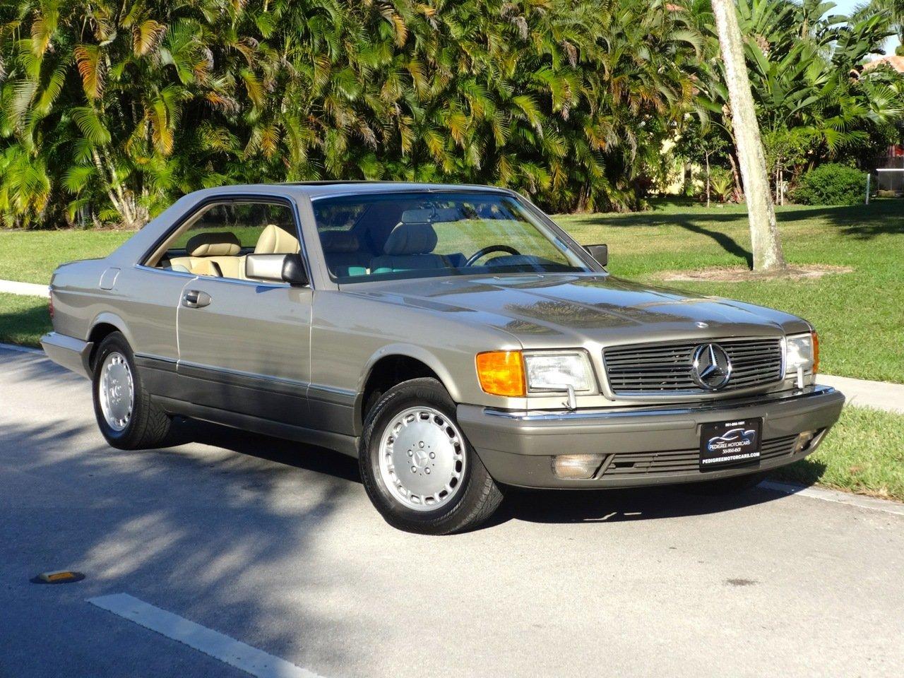 1991 mercedes benz 560 sec