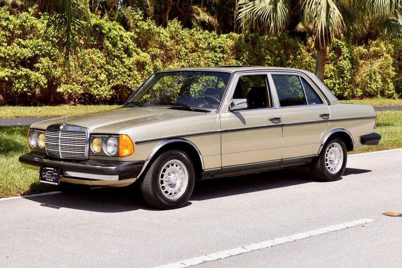 1985 mercedes benz 300d