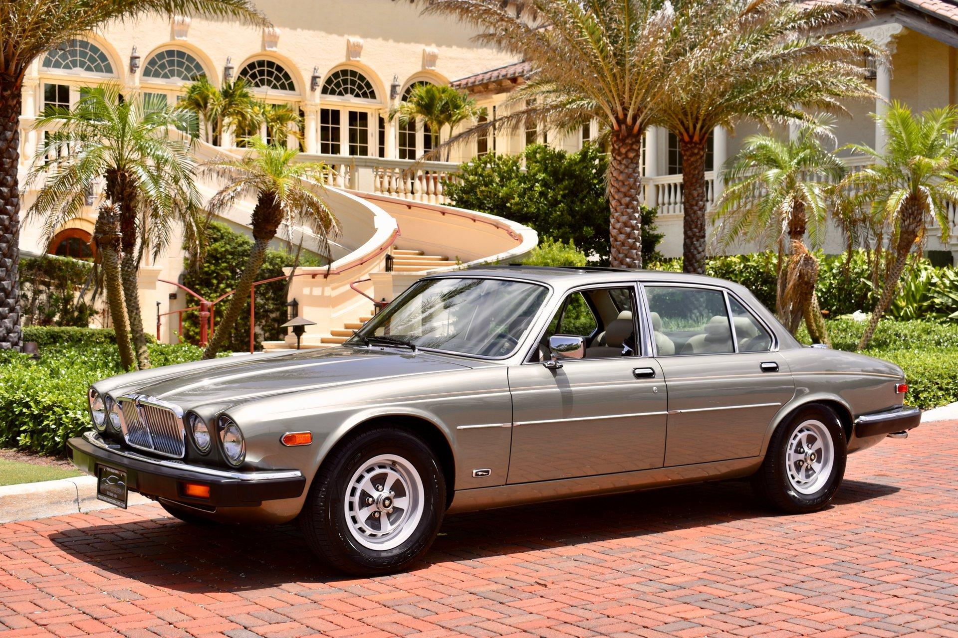 1987 jaguar xj6 vanden plas