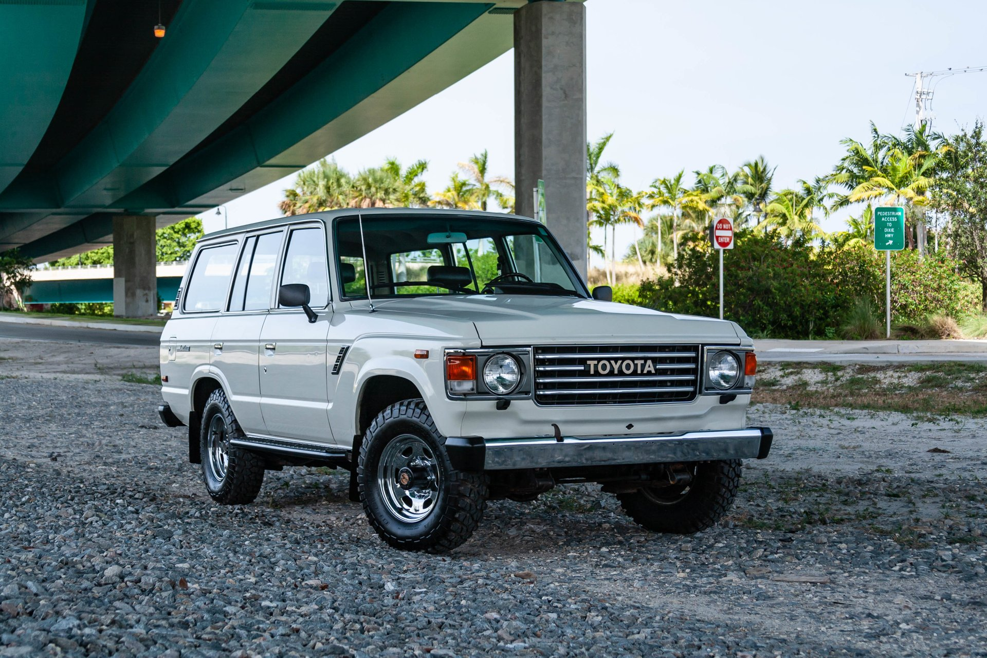 1987 toyota land cruiser 4dr wagon