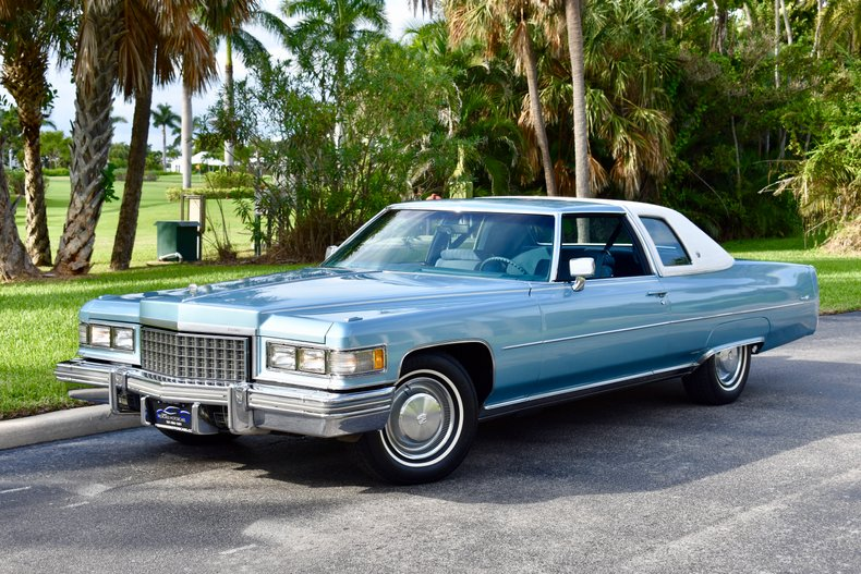 1976 Cadillac Coupe DeVille For Sale