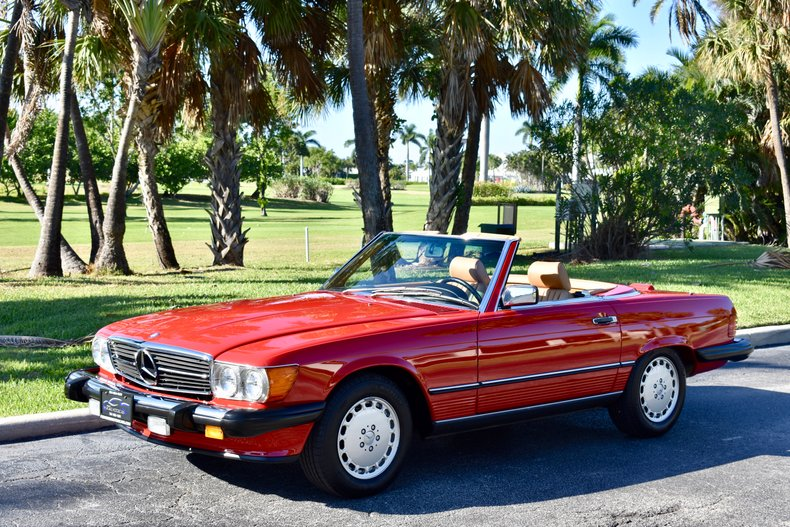 1988 Mercedes-Benz 560SL For Sale