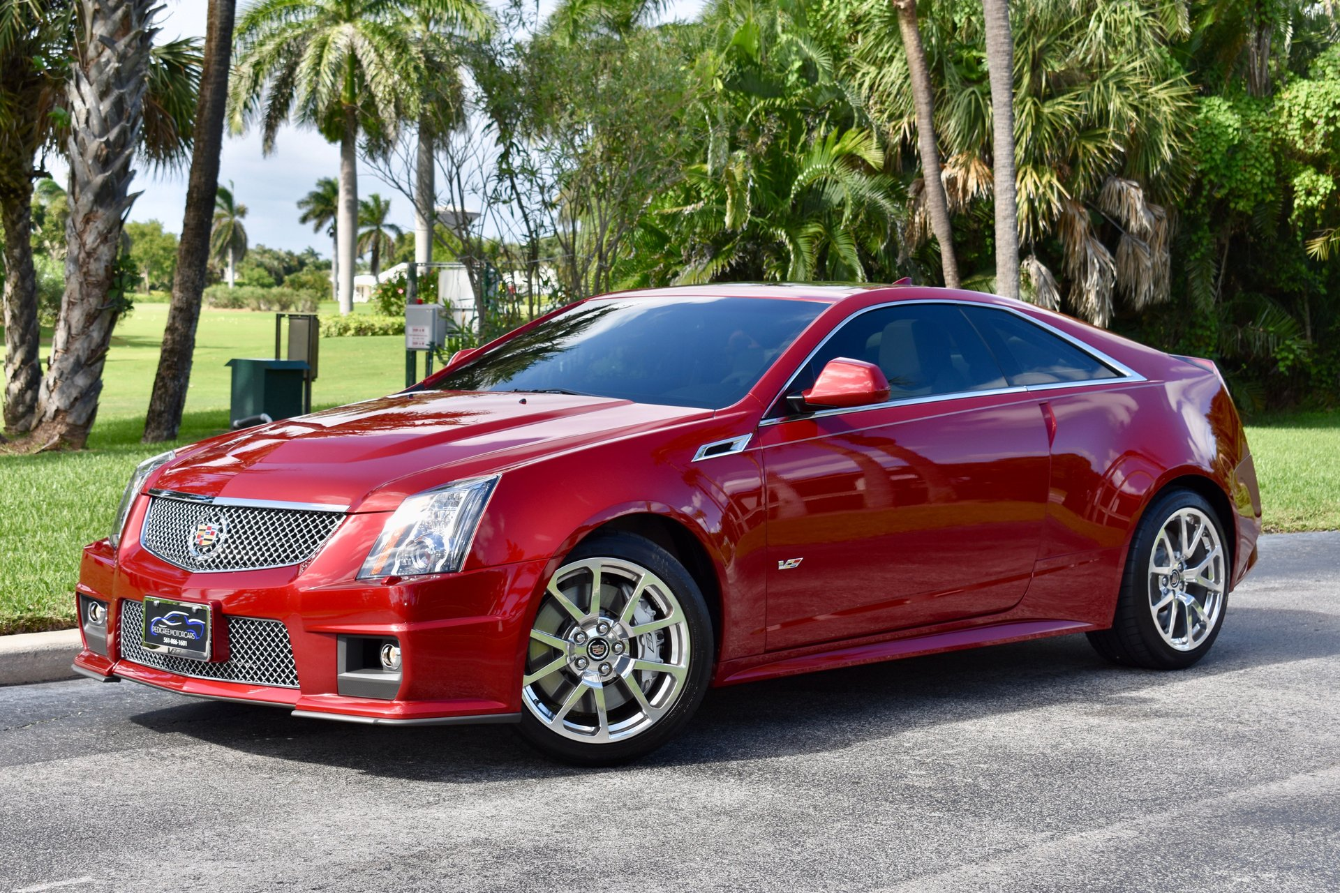 2011 cadillac cts v coupe 2dr cpe