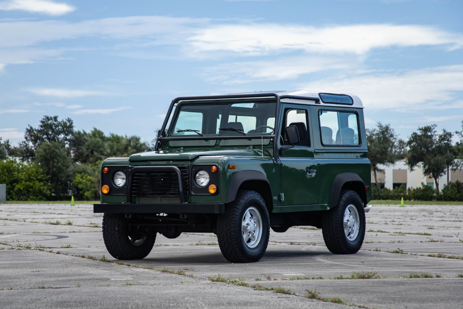 1997 land rover defender 90 2dr station wagon hard top